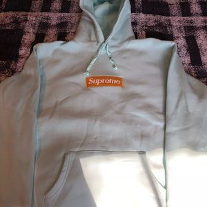 Ice Blue Supreme Box Logo